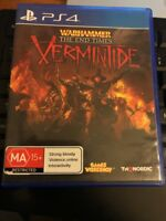 WARHAMMER THE END TIMES VERMINTIDE PS4 PLAYSTATION 4 *CHEAP* BRAND NEW