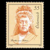 Austria 2009 - Bertha von Suttner - Sc 2221 MNH