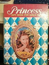 princess gift book for girls annual 1965 unclipped