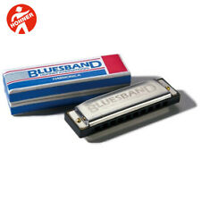 NEW HOHNER BLUES BAND HARMONICA # 1501~ Key of C + ONLINE LESSONS