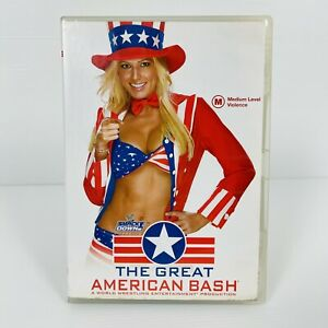 WWE The Great American Bash 2004 (Rare) WWE WWF DVD All Regions Free Postage