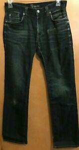Fidelity Jeans 5011 31 x 33 Sabbath Rinse distressed stretch blue jeans EUC