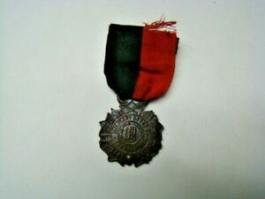 Vintage Military Order of Serpent Ribbon & Medal United Spanish War Veterans