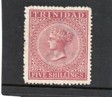 Trinidad Vic. 1869 5s. rose-lake sg 87 VHH.Mint