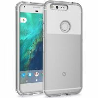 For Google PIXEL SCRATCH RESISTANT SHOCK-PROOF HYBRID DEFENDER CLEAR CASE COVER