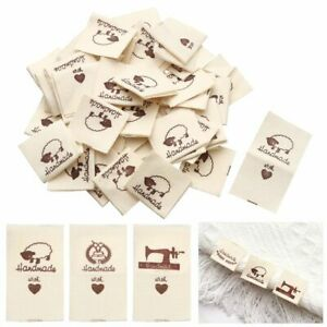 Cloth Garment Labels Sewing Accessories Handmade With Love Clothing Tags