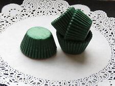 100x Mini Verde Musgo Cupcake Fairycake Muffin casos 2.5cm base de diámetro