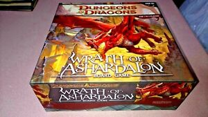 Dungeons and Dragons Game: Wrath of Ashardalon-Board Game with Cool figures