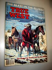 True West Magazine November 1986 Hunting And Trapping In The West Dodge City