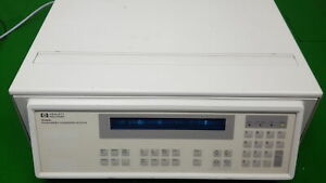 HPLC HP 1046a Programmable Fluorescence Detector