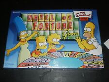 WHEEL OF FORTUNE THE SIMPSONS EDITION PRESSMAN 2004 FACTORY SEALED