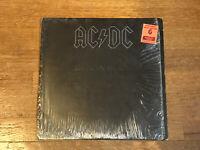 AC/DC LP in Shrink - Back in Black - Atlantic SD 16018 1980 CRC