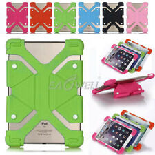 """Universal Soft Silicone Shockproof Safe Case For Various 8 """" Samsung/iPad Tablet"""