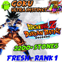 🌟 Goku UI LR with 2200+ Stones FOR Dokkan Android APP Global 🌟Battle Stones