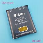 Genuine Nikon EN-EL10 Battery Coolpix S210 S520 S60 S4000 S600 S3000 S5100 MH-63