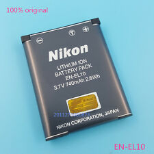 Genuine Nikon EN-EL10 Battery Coolpix S210 S520 S60 S4000 S600 S3000 S5100 MH-63