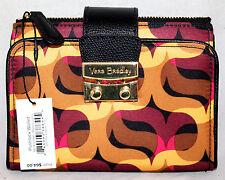 Vera Bradley PushLock Wallet in Modern Lights Black Streeterville Collection~NEW