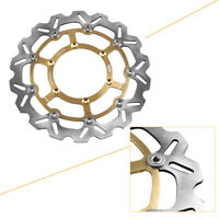 1PC Gold Motorcycle Front Brake Disc Rotor for Suzuki DRZ400SM 2005 2006-2009 08