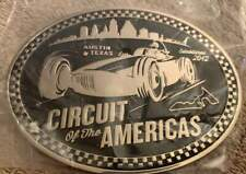 Inaugural 2012 Belt Buckle, Austin, Tx Formula One, F1 Circuit of the Americas