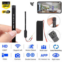 Spy Nanny Cam HD 1080P Wireless WiFi Mini Micro Hidden Pinhole DIY Camera DVR