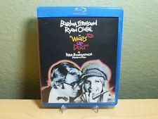 What's Up, Doc? (Blu-ray Disc, 2010) Barbra Streisand Ryan O'Neal Mega Rare OOP