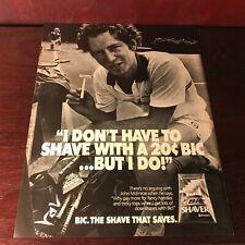 Advertisement - Print Ad, Bic Shaver 1982 - John McEnroe / Converse