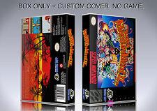 SUPER ADVENTURE ISLAND 2. PAL. Box/Case. Super Nintendo. BOX + COVER. (NO GAME).