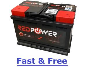 Banner Type 096 Red Power Max Premium Car Battery 12V 72AH CCA (EN) 650A RP72