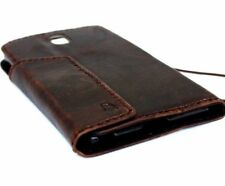 genuine leather Case for Samsung Galaxy Note 3 wallet cover flip luxury slim pro