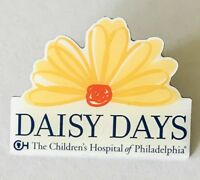 Daisy Days The Childrens Hospital Of Philadelphia Pin Badge Rare Vintage (C1)
