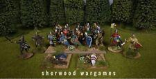 28mm Norman Infantry, 44 Conquest Games Plastics, Swordpoint, Dark Ages, Saga