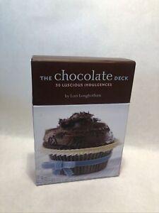 The Chocolate Deck : 50 Luscious Indulgences by Lori Longbotham (2005 / 50Cards)