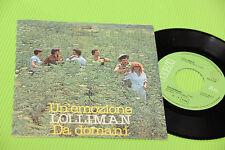 """LOLLIMAN 7"""" UN'EMOZIONE ORIG ITALY PROG 1978 NM !!!!!!!!!!!!!!!!!!!!!!!!!"""