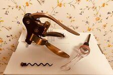 New ~ Wine Bottle Opener Rabbit Corkscrew Decanter Set
