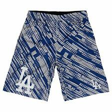 MLB Los Angeles Dodgers Boys Outerstuff Vibrant Printed Shorts Youth XL