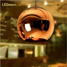 New Tom Dixon Copper  Mirror Ball Ceiling Light Pendant Lamp Lighting 25CM