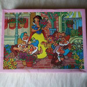Joytoy Walt Disney's SNOW WHITE AND THE SEVEN DWARFS Jigsaw Puzzle Fairytales