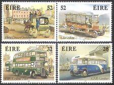 Ireland 1993 Buses/Public Transport/Horses/Coach/Bus/Motoring 4v set (n14254)