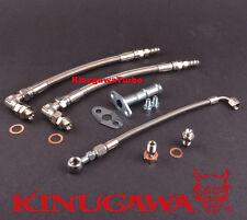 Kinugawa Turbo Oil Water Line fit SUBARU Garrett GT30R GT35R GT28R Ball Bearing