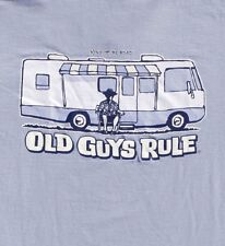 "Old Guys Rule "" Winnebago "" Motor Home King Of The Road Surfer Surfboard S/S 3X"