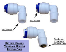 "REVERSE OSMOSIS MEMBRANE HOUSING FITTING 1/8"" TO 1/4"""