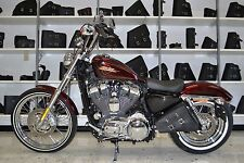 Harley SPORTSTER All Years LEFT Side SOLO BAG Saddlebag - SL01 BAD&G CustomS