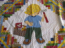 TOOL TIME Cotton & Fleece Baby/Toddler/Youngster Quilt