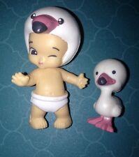 TWOZIES SEASON 2~Common Boy WHITE Flamingo Baby JAMIE & Pet FLAMEY