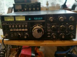 YAESU FT-102 HF ALL MODE HAM RADIO TRANSCEIVER