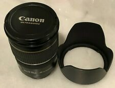 Canon EF-S 17-55mm F2.8 IS USM Autofocus Wide Angle Zoom EOS Lens 1242B002