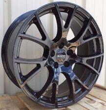 "20"" Fits Hellcat Wheels Gloss Black SRT8 Dodge Challenger Charger 9.5/10.5 Rims"