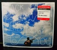 From Here to Now to You by Jack Johnson (CD, +2 Bonus, 2013 Universal) NEW