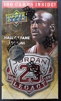 Upper Deck Michael Jordan Hall of Fame Gold Limited Edition 2009/10 Box NBA Set