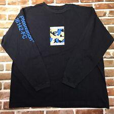 Vintage Rare PNB Nation Shirt Long Sleeve Blue Size Large Grassroots Camo
